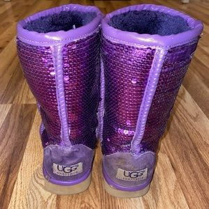 Sparkle ugg boots